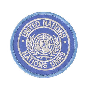 NEW UN United Nations Attached arm badge Patch DZ / TRF