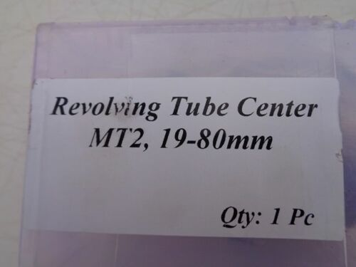 Tube center revolving 2MT suit pipe up to ID from 19 to 80MM