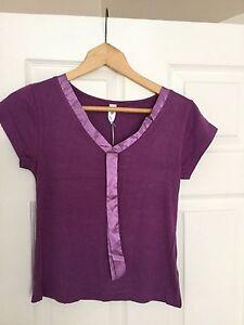 Moon-River-Purple-Pyjama-Top-BNWT-size-small