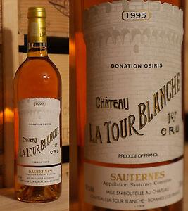 Le Prix Le Moins Cher 1995er Chateau La Tour Blanche-sauternes-miam ***-afficher Le Titre D'origine Pour Effacer L'Ennui Et éTancher La Soif