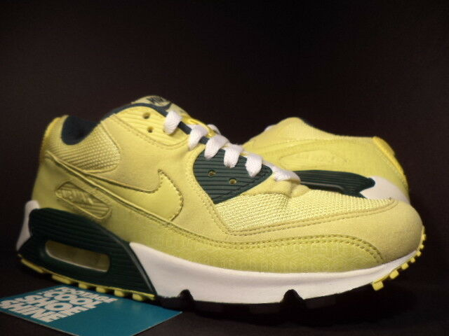 2005 Nike Air Max 90 POWERWALL LEMONADE LEMON GUL SKOG GREEN 314206-771 7.5