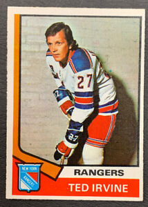 1974-75-O-Pee-Chee-Hockey-264-Ted-Irvine-New-York-Rangers