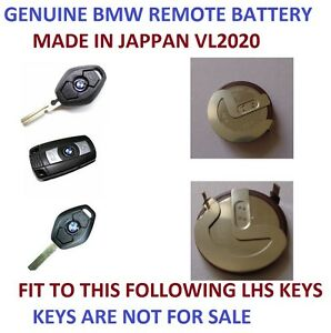 Rechargeable Battery Bmw 3 5 Series E46 E39 Vl2020 Remote Key