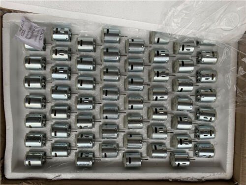 RS-365SA DC 6V-12V 23500RPM High Speed Mini RS-365 Motor D Shaft DIY Hobby Toy