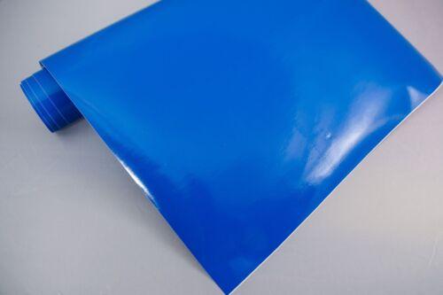 3,2 €//m² film de traceur brillant 9 Enzianblau 30x106cm meubles-Film auto-adhésif