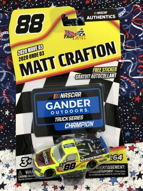 2020 Nascar Authentics Wave 3 Matt Crafton 88 Menards Jack Links Truck 1 64 For Sale Online Ebay