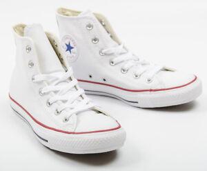 uomo Chuck Taylor da pelle in converse Optical Sneaker 132169c Scarpe alta qa6wtx4