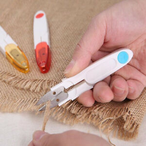New-Trimmer-Cross-stitch-Clipper-Snip-Thread-Cutter-With-Cover-Sewing-Scissors