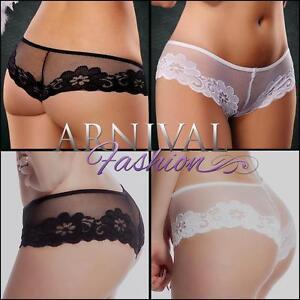 NEW lingerie underwear LACY KNICKERS online lace panties BOY ...
