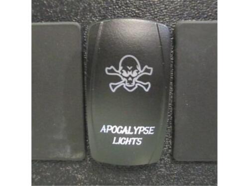 BAD BOY BUGGY JAGGEDX Dual BackLit White APOCALYPSE Rocker Switch ON OFF #ACAS