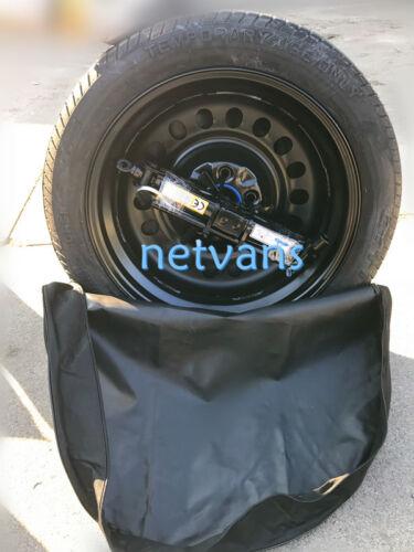 """kit roue de secours galette 17/"""" pour HYUNDAI IONIQ avec cric cléf et sac"""
