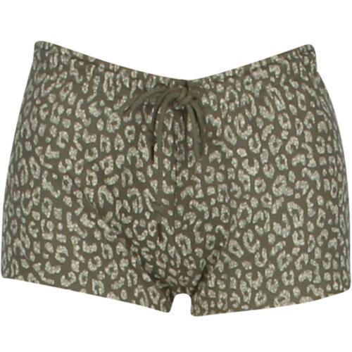 272120002DOL $38 Obey Women Lola Sweat Shorts olive // dusty