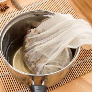 Image Is Loading 1pc Reusable Milk Strainer Bag Tea Coffee Filter