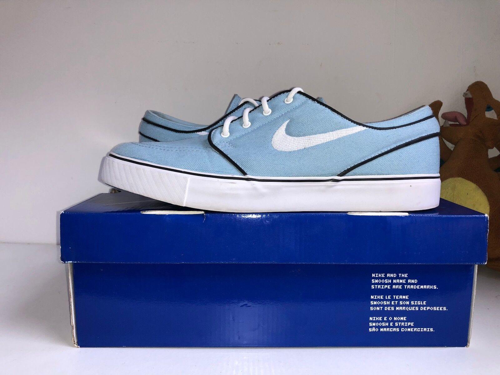 Nike Stefan Janoski Entrenadores  Suave Azul/Blanco [US 10.5  Entrenadores ] c90724