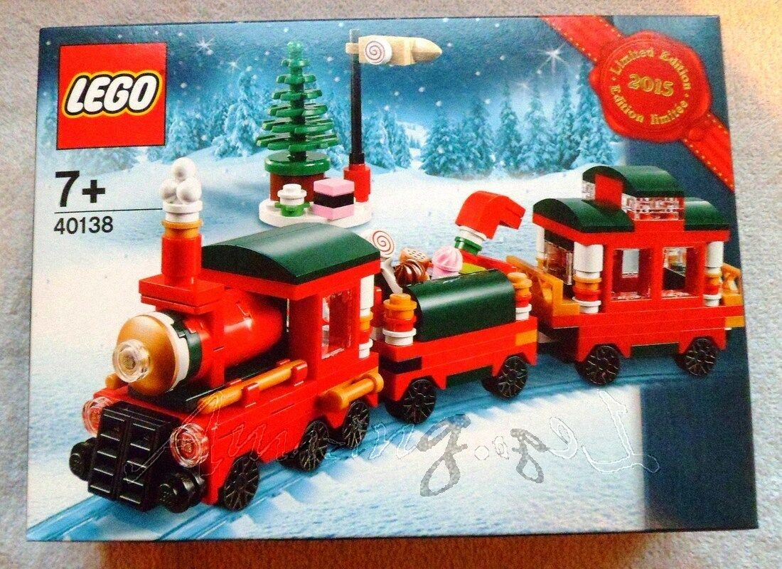 Genuine New Limited Edition Lego Christmas Train 40138 Factory Sealed MISB