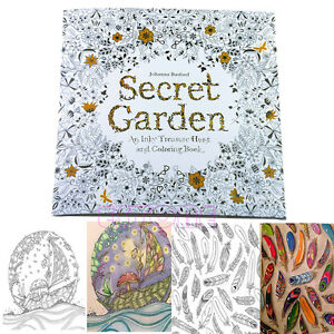 Hot SECRET GARDEN An Inky Treasure Hunt And Coloring Book