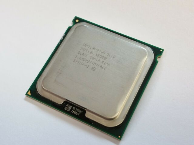 Intel Xeon 5110 1.6GHz Dual-Core Processor LGA771 socket  (BX805565110A)