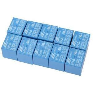 10Pcs-Power-Relay-5-Pin-SRD-5VDC-SL-C-PCB-Type-250V-AC-28V-DC-Power-Relay