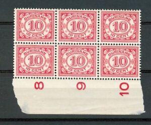 SURINAME-86-6x-PF-LUXE-GEEN-PRIJS-IN-KATALOGUS