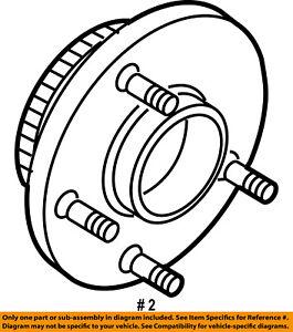 dodge chrysler oem 06 08 ram 1500 front hub bearing 68088025aa ebay 2008 Dodge Ram 3500 image is loading dodge chrysler oem 06 08 ram 1500 front