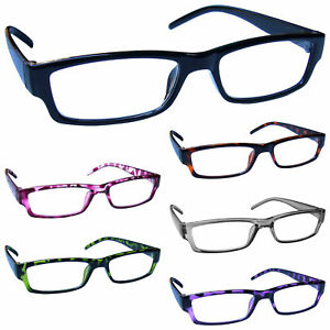 343d9e823d4 Image is loading Reading-Glasses-Mens-Womens-Lightweight-Designer-Style-UV-