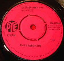 """The Searchers Needles And Pins 7"""" UK ORIG 1964 Pye b/w Saturday Night Out VINYL"""
