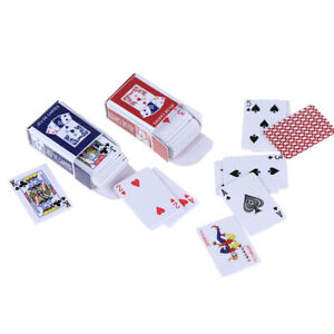 Lovely-Paper-Model-Poker-Miniature-Poker-Model-1-12-Dollhouse-Accessories-FE