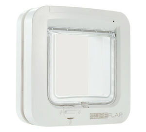SureFlap Sur001 Microchip Cat Flap with Mounting Adaptor