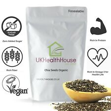 Certified Organic Chia Seeds - All Natural - Omega 3 & Fiber - Weight Loss