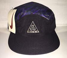 Vtg Nike ACG 5 panel strapback Snapback hat cap 90s Jordan NWT og supreme nylon
