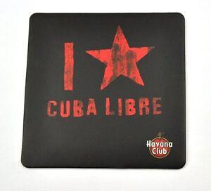 Havana-Club-Bierdeckel-Untersetzer-Coaster-sous-bock-Logo-I-love-Cuba-Libre