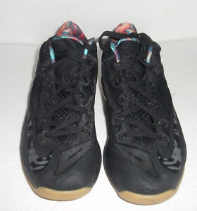 Image is loading Nike-Lebron-XI-11-Low-034-Black-Gum- d3003ccef8fb