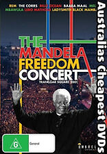 The Mandela Freedom Concert DVD NEW, FREE POSTAGE WITHIN AUSTRALIA REGION ALL