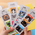 3 cartoon mini Super hero cat creative Magnetic bookmark Clip fancy party gift