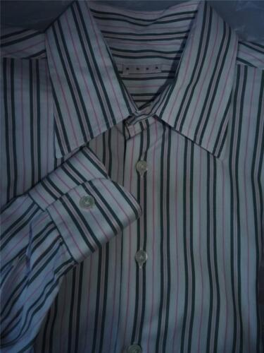 RODA MADE IN ITALY STRIPED DRESS SHIRT 1737