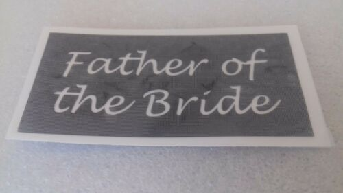 10-400 Mother /& Father of the Groom /& Bride stencils mixed for etching glass