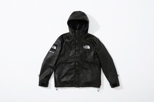 Parka Supreme® Leather Face® Black Mountain the Large Farbe Size Color North Owwxq1XnC6