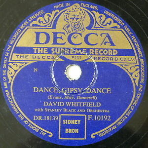 78-record-in-frame-DANCE-GYPSY-DANCE-ANSWER-ME-david-whitfield