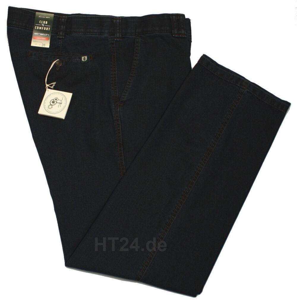 CLUB of COMFORT Jeans DALLAS dunkelblue Gr. 24 - 31 + 26K - 35K Stretch (4631)