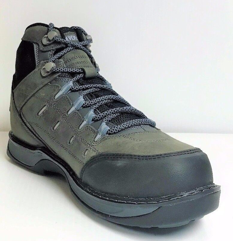 Men's Fashion Safety Shoes Steel Toe Breathable Boots Hiking Climbing Shoes LT14