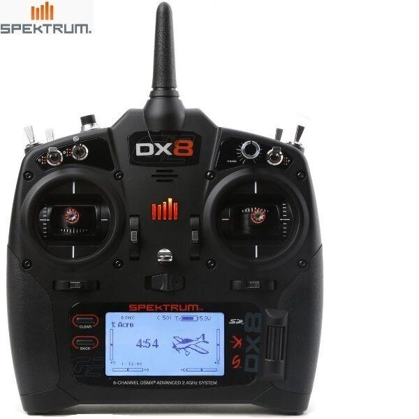 Spektrum SPMR8000 DX8 Gen 2 DSMX 8-Channel Transmitter Mode 2