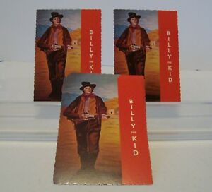 Details about Lot of 34 NEW POSTCARDS BILLY THE KID-BORN WILLIAM H  BONNEY-KILLED 21 MEN -G42