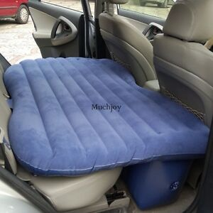 universal auto luft bett matratze aufblasbar kfz autor ckbank mit pumpe airbed ebay. Black Bedroom Furniture Sets. Home Design Ideas
