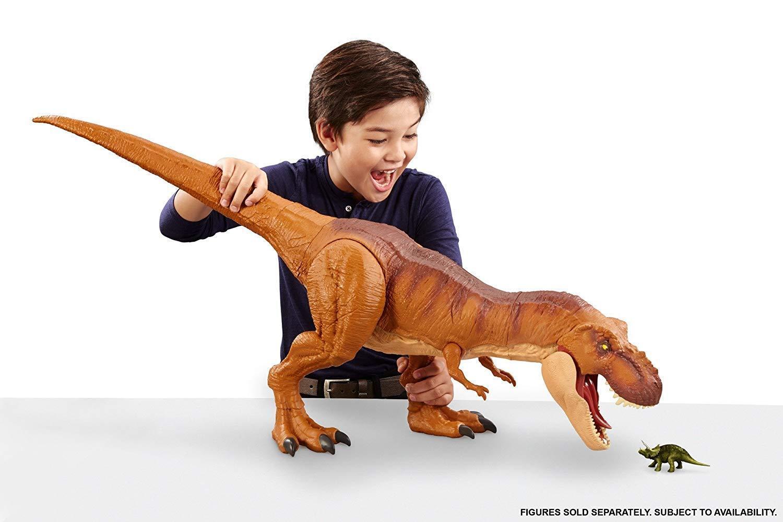 Jurassic welt super riesige tyrannosaurus rex dinosaurier - dino abbildung kinder - spielzeug