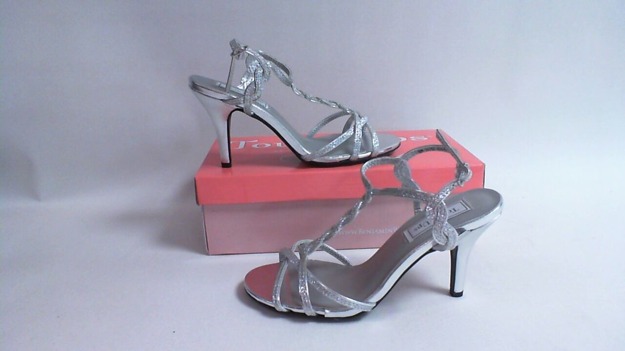 New: Touch Ups Bridal/Evening Shoes - Fran - Silver - US 5 M UK 3 #2R295