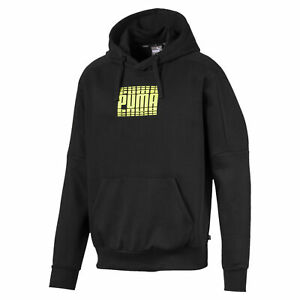 PUMA-Rebel-Block-Men-039-s-Fleece-Hoodie-Men-Sweat-Basics