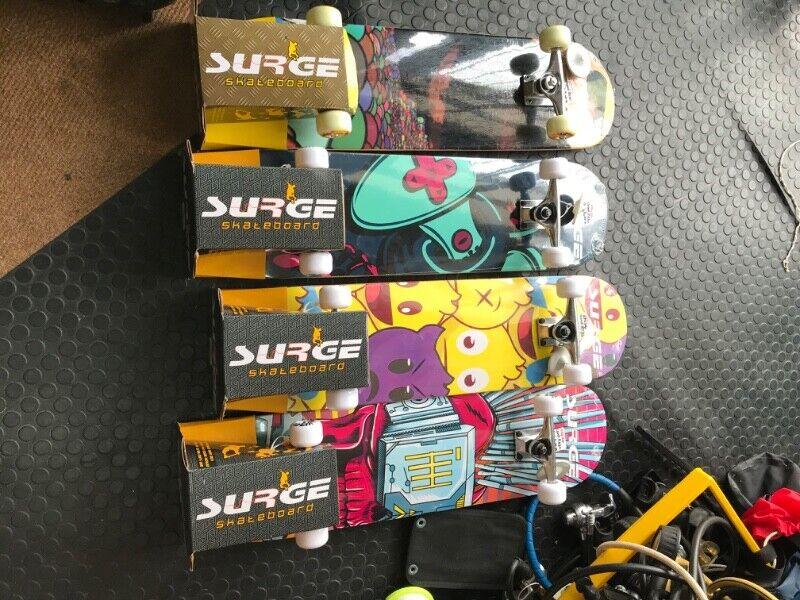 Complete skateboard special