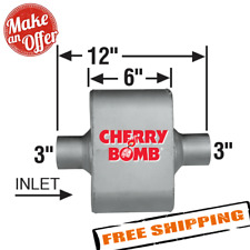 Ap Exhaust 7428cb Cherry Bomb Extreme Exhaust Muffler