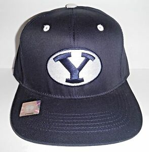 e680a4e546c Image is loading NCAA-BYU-Brigham-Young-Cougars-NEW-Snapback-Flat-