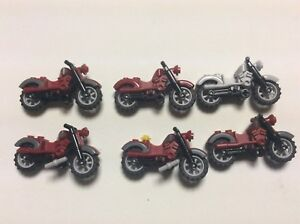 of Lot Lego motorcycle Harley motorcycles Davidson minifig accessories N467M 6 aPHBHwq
